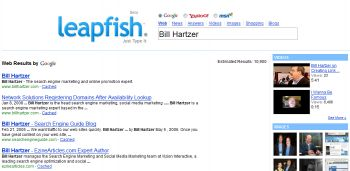 leapfish search results