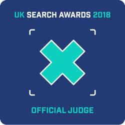 UK Search Awards Judge