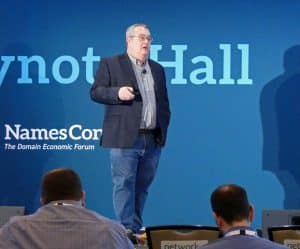 Bill Hartzer speaking at Namescon 2020