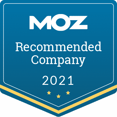 Moz Recommended Company 2021